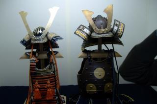平戸で見つけた鎧兜